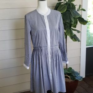 Michael Kors Pleated Shirtdress NWOT